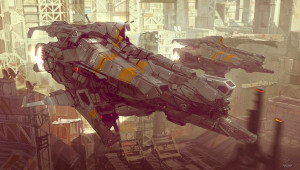 Homeworld: Transportation Design, Ghosts Photo, Concept Ships, Daniel ...