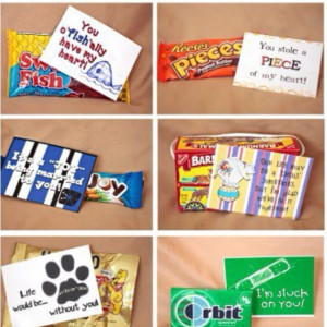 Care package: cute sayings to go with candy...Cute Candy Sayings ...