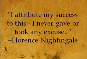 Florence Nightingale) I want to be more like this!