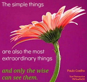Simple Things Quotes