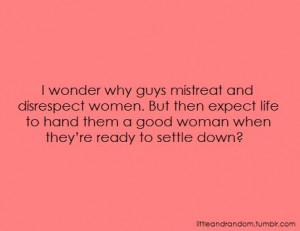 ... guys # men # man # boy # boys # marriage # disrespect # woman # women