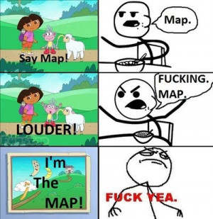 Dora The Explorer - Say Map!