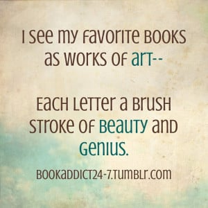 See My Favorite Nooks As Works Of Art - Book Quote