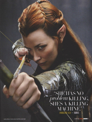 New 'The Hobbit: The Desolation Of Smaug' Pics Showcase Evangeline ...