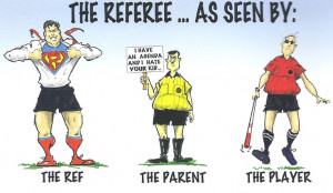 Any soccer families out there? Any coaches or referees? I saw this ...