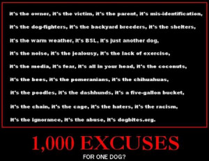 The most common – and absurd – excuses, lies, blame shifting ...