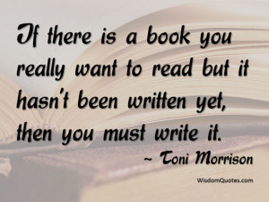 Toni Morrison Quote - © Jone Johnson Lewis, adapted from an image ...