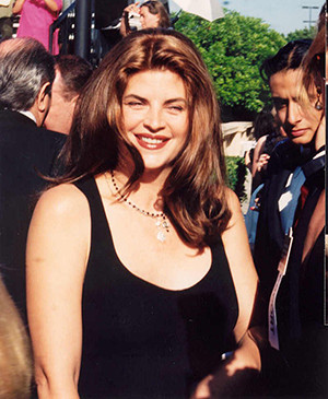 Kirstie Alley is not only an actress, but also a proud adoptive parent ...