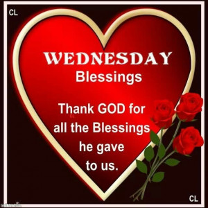 Wednesday Daily Blessings Quotes