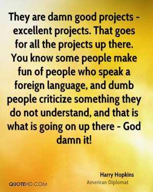 Harry Hopkins Quotes