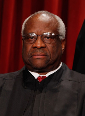 Justice Clarence Thomas spoke for the first time in court in nearly ...
