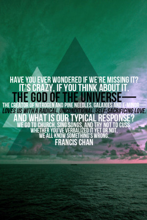 francis chan quotes