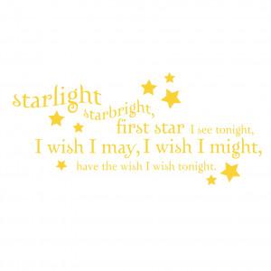 Starlight Starbright Quote