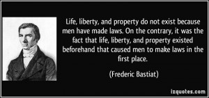 More Frederic Bastiat Quotes