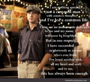 Romantic movie quote from The Notebook by Noah who is played by Ryan ...