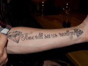 24 Exquisite Diamond Tattoo Designs