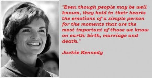 Jackie kennedy famous quotes 3