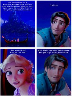 Our favorite quote from Tangled ♥ More