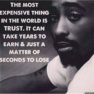 The most expensive thing in the world is...