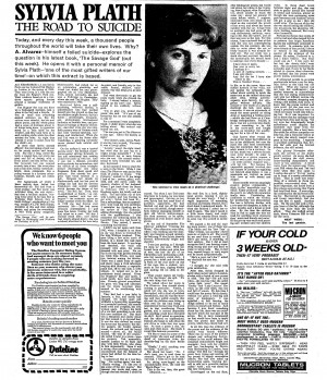 Sylvia Plath - reviews from the archive | From the Guardian ...