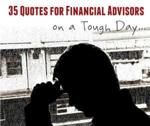 Financial Advisor Quote