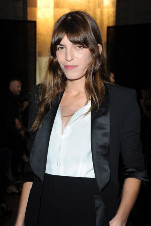 Lou Doillon attends the Yves Saint Laurent Ready to Wear Spring ...