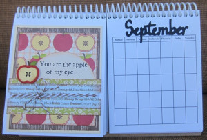... days each needed a monthly quotes for each month but sayings for each