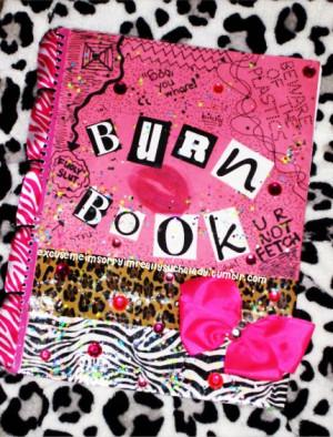 Burn Book Mean Girls Image...