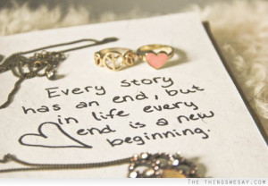 ... an end. Madame de Stael Ending Quotes|Endings|End Quote|The End Quotes
