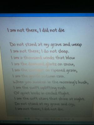 Read it backwards. It's a reverse poem