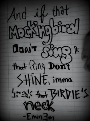 ... still eminem song quotes mockingbird eminem song quotes mockingbird