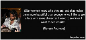 Older women know who they are, and that makes them more beautiful than ...