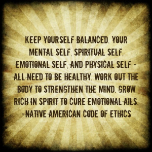 Native American Quote Nature Ethics Kootation
