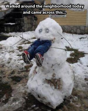 Amazingly Creative Snowmen – 36 Pics