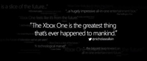 Microsoft Quotes Random Tweet to Promote Xbox One
