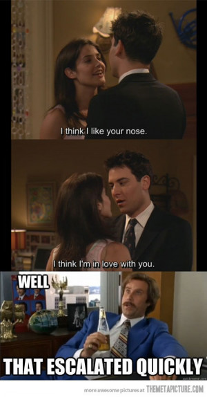 funny Ted Mosby girl love