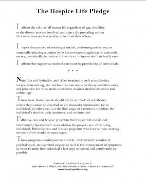 External Factors Affecting Hospice