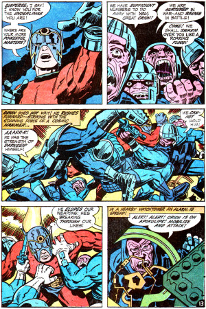 Displaying (17) Gallery Images For Jack Kirby Darkseid...