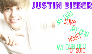 Justin Bieber justin bieber - one time i made thiss =)