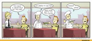 Funny Salad Cartoon Comics,funny comics &