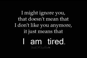 Ignore Quotes