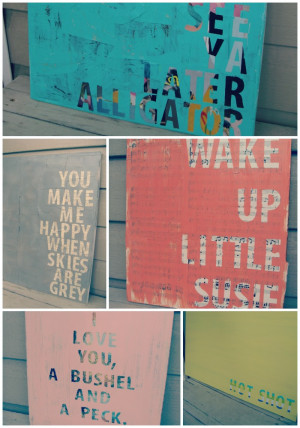 diy painted canvas quotes