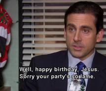 christmas, jesus, michael scott, the office