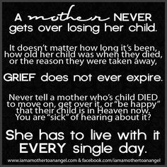 Grief, Mothers, Quotes, Sons, Angels Baby, Children, Infants Loss ...