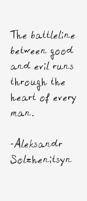 Aleksandr Solzhenitsyn Quotes & Sayings