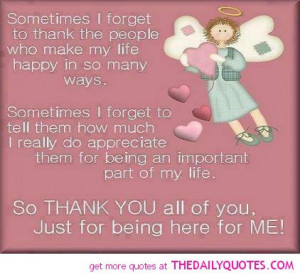 thank you quotes for friends and family thank you quotes for friends ...