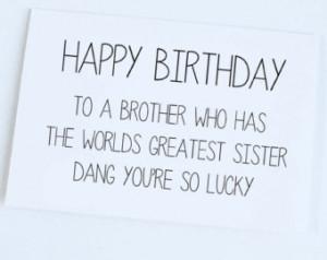 Happy Birthday Big Brother Funny Quotes Funny happy bi