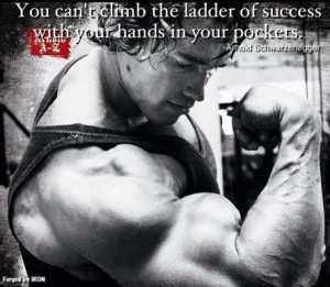 What it Takes to Improve Your Body - Arnold Schwarzenegger Quote
