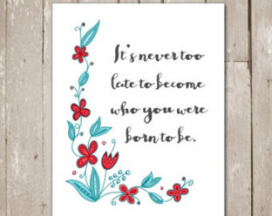Wall art quotes - Retirement gifts for women- Inspirational wall art ...