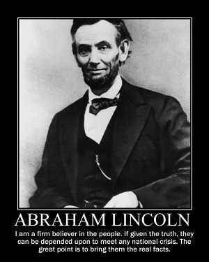 Abraham Lincoln – Activist Quotes